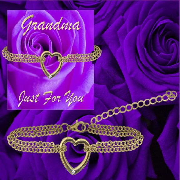 Grandma ''Just for You'' Bracelet