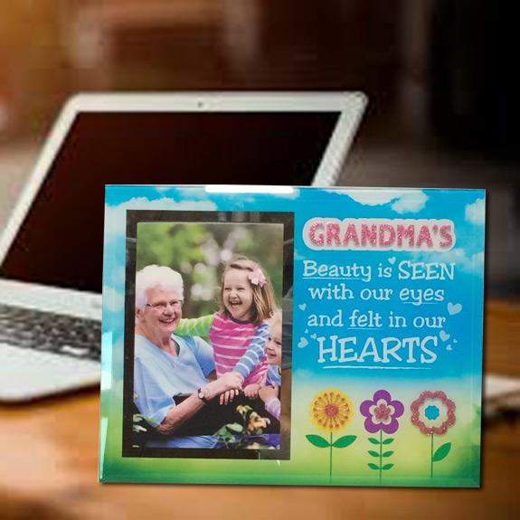 Grandma Glass Picture Frame
