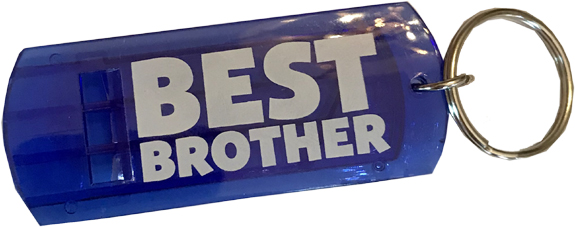 Best Brother Whistle Key Chain - Brother Gifts - Buy Holiday Shop Gifts