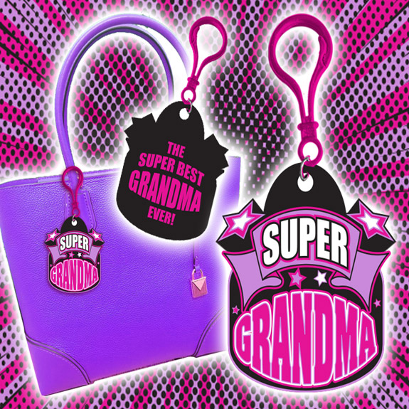 Super Grandma Clip - Grandma Gifts - Buy Holiday Shop Gifts