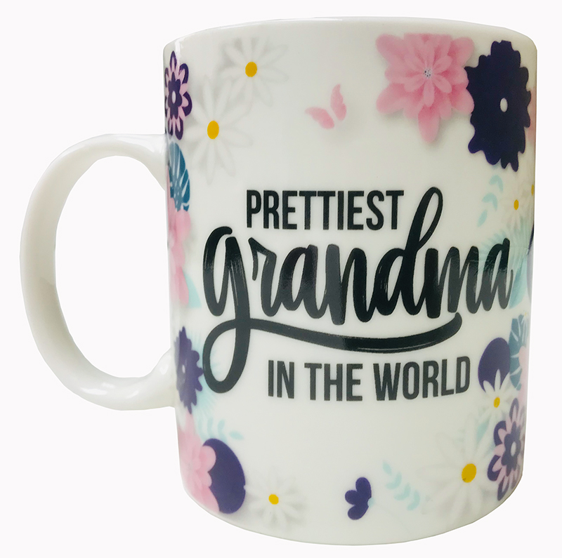 Prettiest Grandma Mug - Grandma Gifts - Buy Holiday Shop Gifts