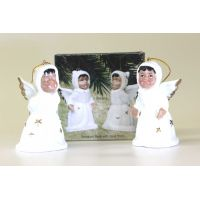 Porcelain Angel Bells Set of 2 - Christian Gifts - Buy Holiday Shop Gifts