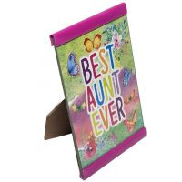 Best Aunt Ever Plaque - Aunt Gifts - Buy Holiday Shop Gifts