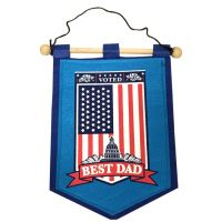 Dad Banner on Wooden Rod - Dad Gifts - Buy Holiday Shop Gifts