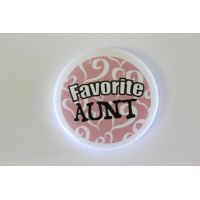 Favorite Aunt Pin - Aunt Gifts - Buy Holiday Shop Gifts