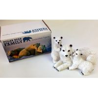 Polar Bear Family Figurine - Gifts For Women - Buy Holiday Shop Gifts