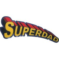 Super Dad Sign - 18 Inch - Dad Gifts - Buy Holiday Shop Gifts