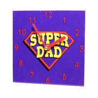 Super Dad Wall Clock - Dad Gifts - Buy Holiday Shop Gifts