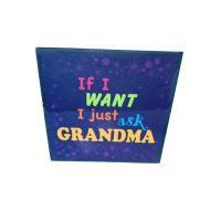 Grandma Ceramic Plaque - Grandma Gifts - Buy Holiday Shop Gifts