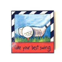Inspirational Golf Plaque - Gifts For Men - Buy Holiday Shop Gifts