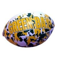 Green Bay Vinyl Camouflage Football - 6 Inch - Sports Team Logo Gifts - Buy Holiday Shop Gifts