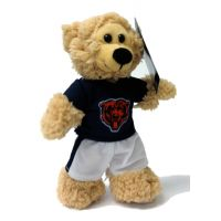 Chicago Bears Plush NFL Quarterback Bear - Sports Team Logo Gifts - Buy Holiday Shop Gifts