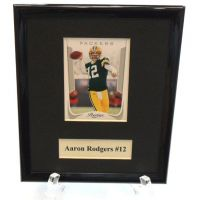 Aaron Rodgers NFL Sports Star Plaque - Sports Team Logo Gifts - Buy Holiday Shop Gifts