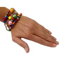 Set of 5 - Beadtastic Bead Bracelet Multi Charm - Jewelry Gifts - Buy Holiday Shop Gifts