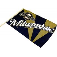 Team Flag on Stick - Brewers - Sports Team Logo Gifts - Buy Holiday Shop Gifts