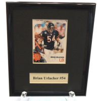 Brian Urlacher NFL Sports Star Plaque - Sports Team Logo Gifts - Buy Holiday Shop Gifts