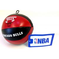 NBA Vinyl Basketball - Bulls - Sports Team Logo Gifts - Buy Holiday Shop Gifts