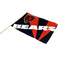 Team Flag on Stick - Bears - Sports Team Logo Gifts - Buy Holiday Shop Gifts