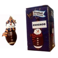 Chicago Football Fan Ornament - Sports Team Logo Gifts - Buy Holiday Shop Gifts