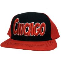 Chicago City - Flat Brim Hat - Cap - Sports Team Logo Gifts - Buy Holiday Shop Gifts