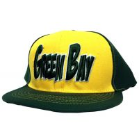 Green Bay City - Flat Brim Hat - Cap - Sports Team Logo Gifts - Buy Holiday Shop Gifts