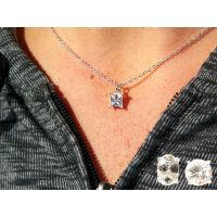 Genuine Cubic Zirconia Pendant in Blue Box - Jewelry Gifts - Buy Holiday Shop Gifts