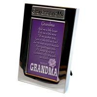 Grandma and Me Silver Photo Frame