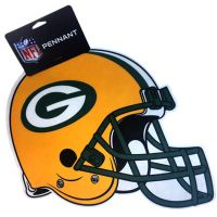 Green Bay Packers Team Helmet Pennant - Sports Team Logo Gifts - Buy Holiday Shop Gifts