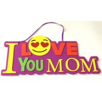 I Love You Mom Emoji Foam Sign - Mom Gifts - Buy Holiday Shop Gifts