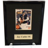 Jay Cutler Sports Star Plaque - Sports Team Logo Gifts - Buy Holiday Shop Gifts