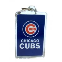 Chicago Cubs MLB Acrylic Keychain - Sports Team Logo Gifts - Buy Holiday Shop Gifts
