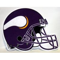 Minnesota Vikings Helmet Pennant - Sports Team Logo Gifts - Buy Holiday Shop Gifts