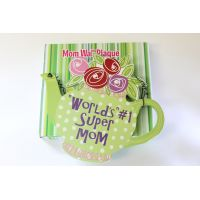#1 Mom Teapot Wall Plaque - Mom Gifts - Buy Holiday Shop Gifts