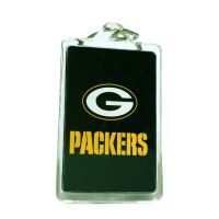 Green Bay Packers Acrylic Key Chain - Sports Team Logo Gifts - Buy Holiday Shop Gifts