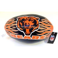 9 In. NFL Vinyl Football - Bears - Sports Team Logo Gifts - Buy Holiday Shop Gifts