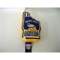 Minnesota Vikings Vinyl No 1 Hand - Sports Team Logo Gifts - Buy Holiday Shop Gifts