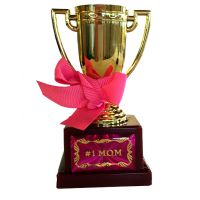 Number 1 Mom Trophy - Mom Gifts - Buy Holiday Shop Gifts