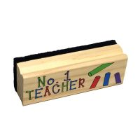 #1 Teacher Chalkboard Dry Eraser - Teacher Gifts - Buy Holiday Shop Gifts