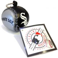 Vinyl Key Chain - White Sox - Sports Team Logo Gifts - Buy Holiday Shop Gifts