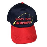 Worlds Best Grandpa Cap - Grandpa Gifts - Buy Holiday Shop Gifts