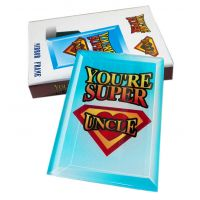 Youre Super Uncle Mirror Frame - Uncle Gifts - Buy Holiday Shop Gifts