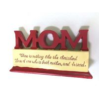 Mom Polystone Plaque - Mom Gifts - Buy Holiday Shop Gifts