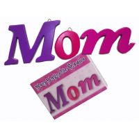 Mom 3pc Wood Plaque - Mom Gifts - Buy Holiday Shop Gifts