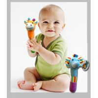 Animal Baby Rattle Plush - Baby Gifts - Buy Holiday Shop Gifts