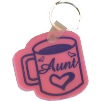 Aunt Coffee Cup Key Chain - Aunt Gifts - Buy Holiday Shop Gifts