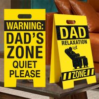 Dad Relaxation Zone Sign - Dad Gifts - Buy Holiday Shop Gifts