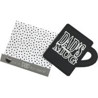 Dad Drink Coaster - Dad Gifts - Buy Holiday Shop Gifts