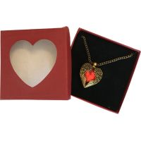 Red Heart with Wings - Jewelry Gifts - Buy Holiday Shop Gifts