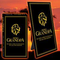 Hero Grandpa Glass Plaque - Grandpa Gifts - Buy Holiday Shop Gifts