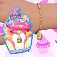 Mom Makes Me Happy Charm Bracelet - Mom Gifts - Buy Holiday Shop Gifts